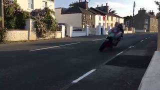 26.05.18 ISLE OF MAN TT Solo's Practice | Ballaugh | Live Footage