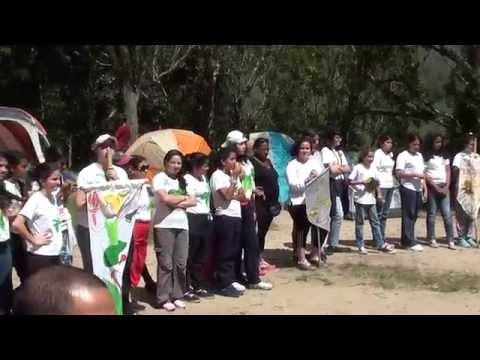 Campamento con H y MJ Estaca Caracas- Venezuela