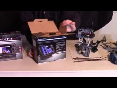 Garmin Striker 7sv Unboxing and Assembly