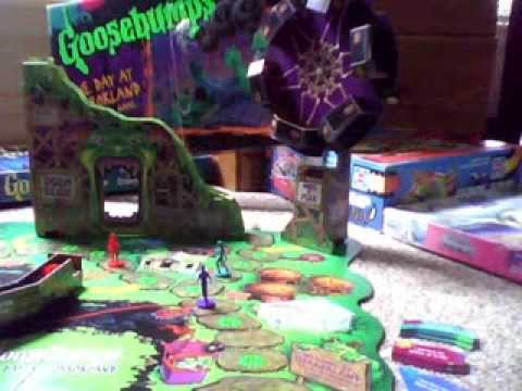 MY Goosebumps One Day at Horrorland Game by Milton Bradley