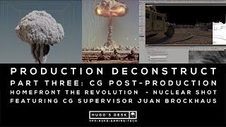 Part Three: CG Post-production - Houdini Redshift - Featuring Juan Brockhaus - HomeFront Cinematic