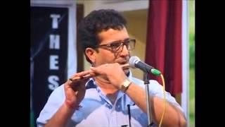 """Tu Hi Re"" & ""Roza""  On Flute By Naresh Sir ( heart touching) In Jammu University 19-05-2013"