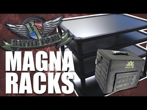 Accessory Showcase Battle Foam Magna Racks