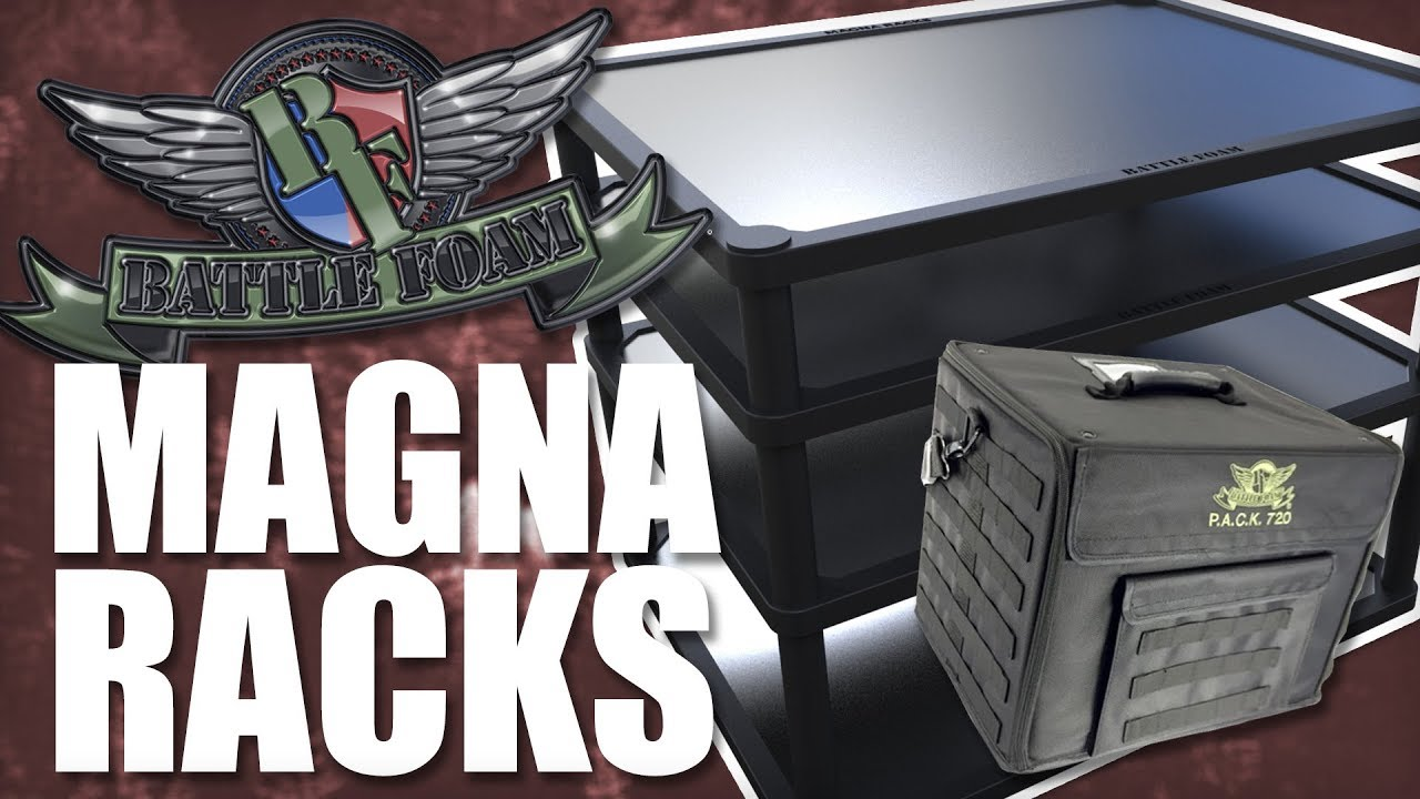 Accessory Showcase Battle Foam Magna Racks Youtube Unfollow battlefoam to stop getting updates on your ebay feed. accessory showcase battle foam magna racks