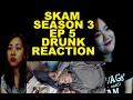 SKAM SEASON 3 | EP 5 | DRUNK REACTION - ISAK AND EVEN CUDDLE