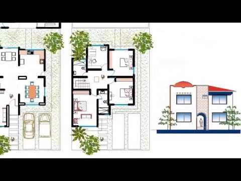Plano de casa dos pisos 3 rec maras youtube Planos de casas 2 recamaras