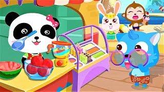 Play ICE CREAM Fun Cartoon Little PANDA Game For Children
