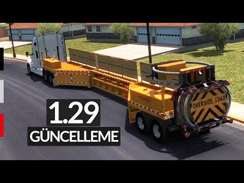1.29 Güncelleme Özellikleri - American Truck Simulator