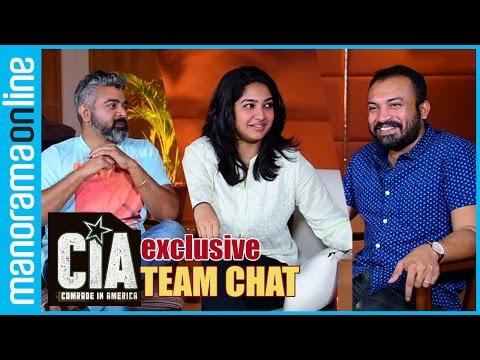 CIA - Comrade in America | Soubin, Karthika, Jinu Joseph | Team Chat | Manorama Online
