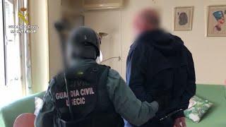 """La Guardia Civil desarticula una banda que daba """"vuelcos"""" a traficantes"""
