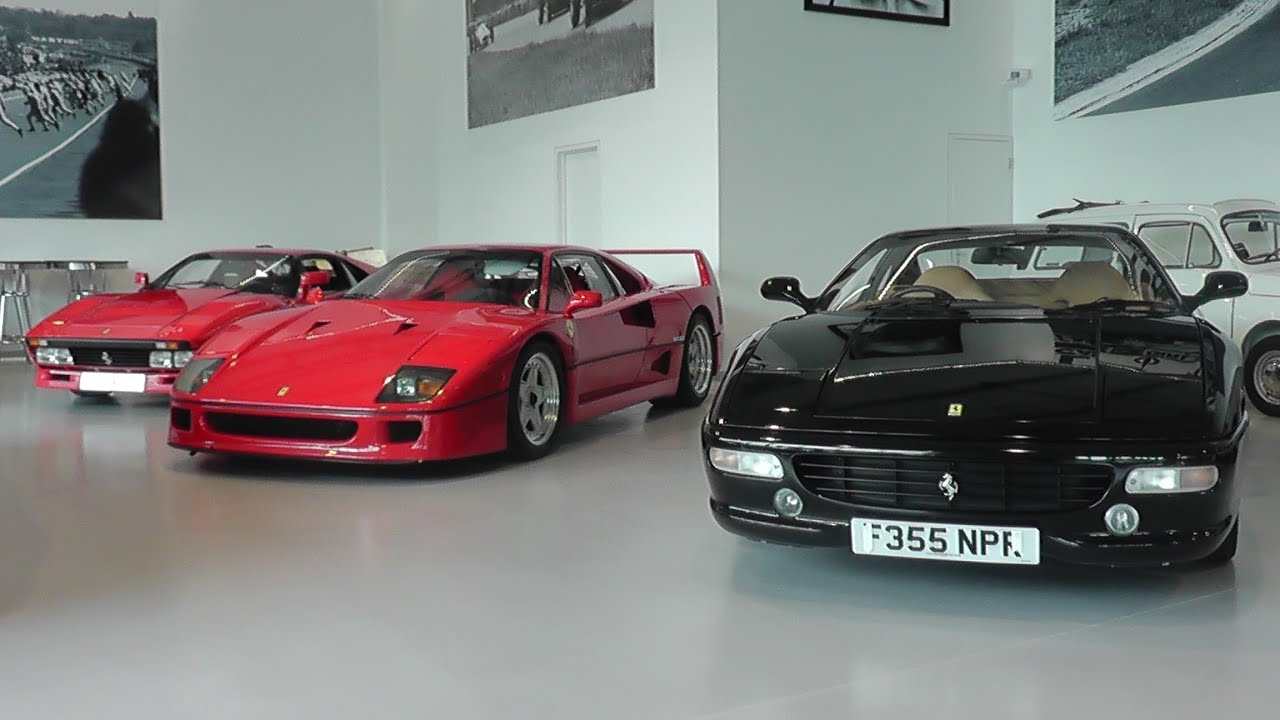 Supercars for sale at Joe Macari