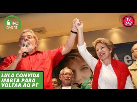 Giro das 11h (18.10.19): Lula convida Marta para voltar ao PT