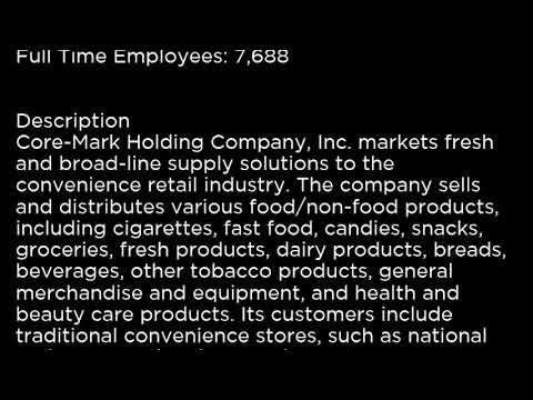 CORE Core Mark Holding Company, Inc  CORE buy or sell Buffett read basic