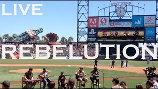"""Rebelution """"Count Me In"""" (Live) at AT&T Park before the baseball game"""