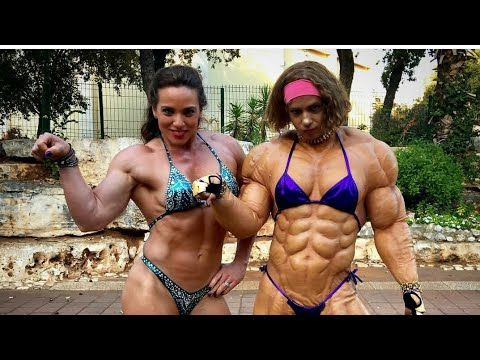 Dana Shemesh , MADNESS MUSCLE, FEMALE BODYBUILDING GYM WORKOUT