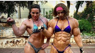 Dana Shemesh , MADNESS MUSCLE, FEMALE BODYBUILDING GYM WORKOUT