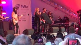 ESCKAZ live in Malmö: Bonnie Tyler (UK) - Believe In Me (Eurovillage)