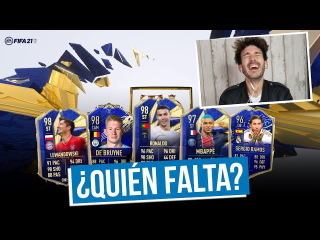 REACCIONAMOS A LOS TOTY DE FIFA 21   ¿SON JUSTOS?