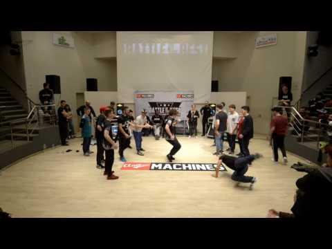 Black Out (Thessaloniki) vs Zapinin Nerves (Creta) - Balkan Battle Pro 2017 Crew Semi Final