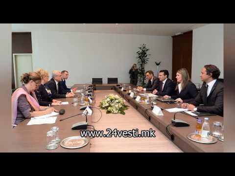 Заев и пет министри во посета на Босна и Херцеговина