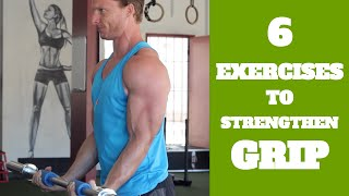 6 Forearm Exercises To Strengthen Your Grip