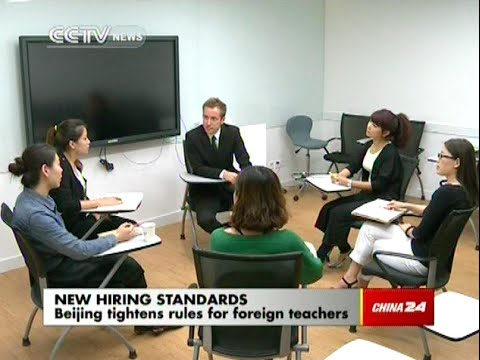How will the new rules affect foreign teachers in Beijing?