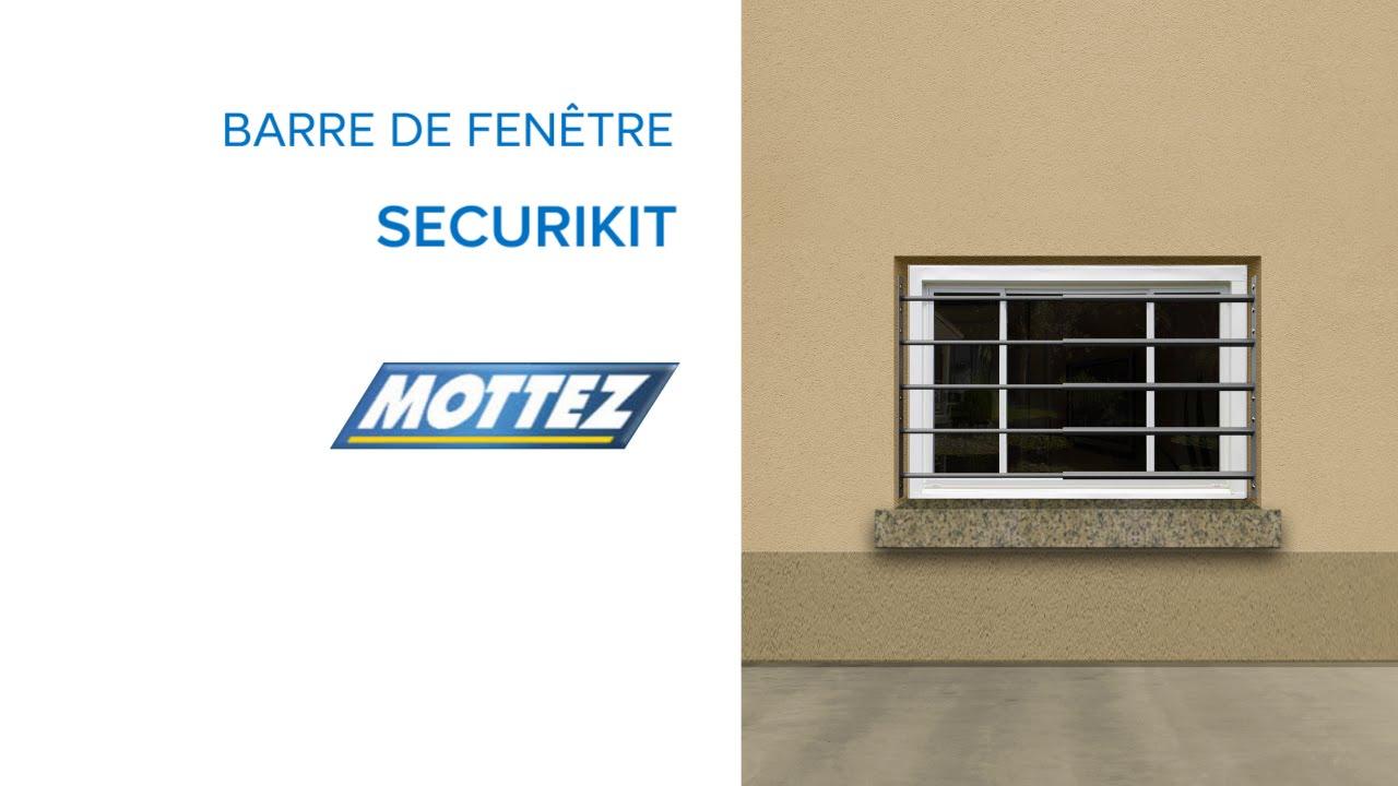 Barre De Sécurité Pour Fenêtre Mottez 617004 Castorama Youtube