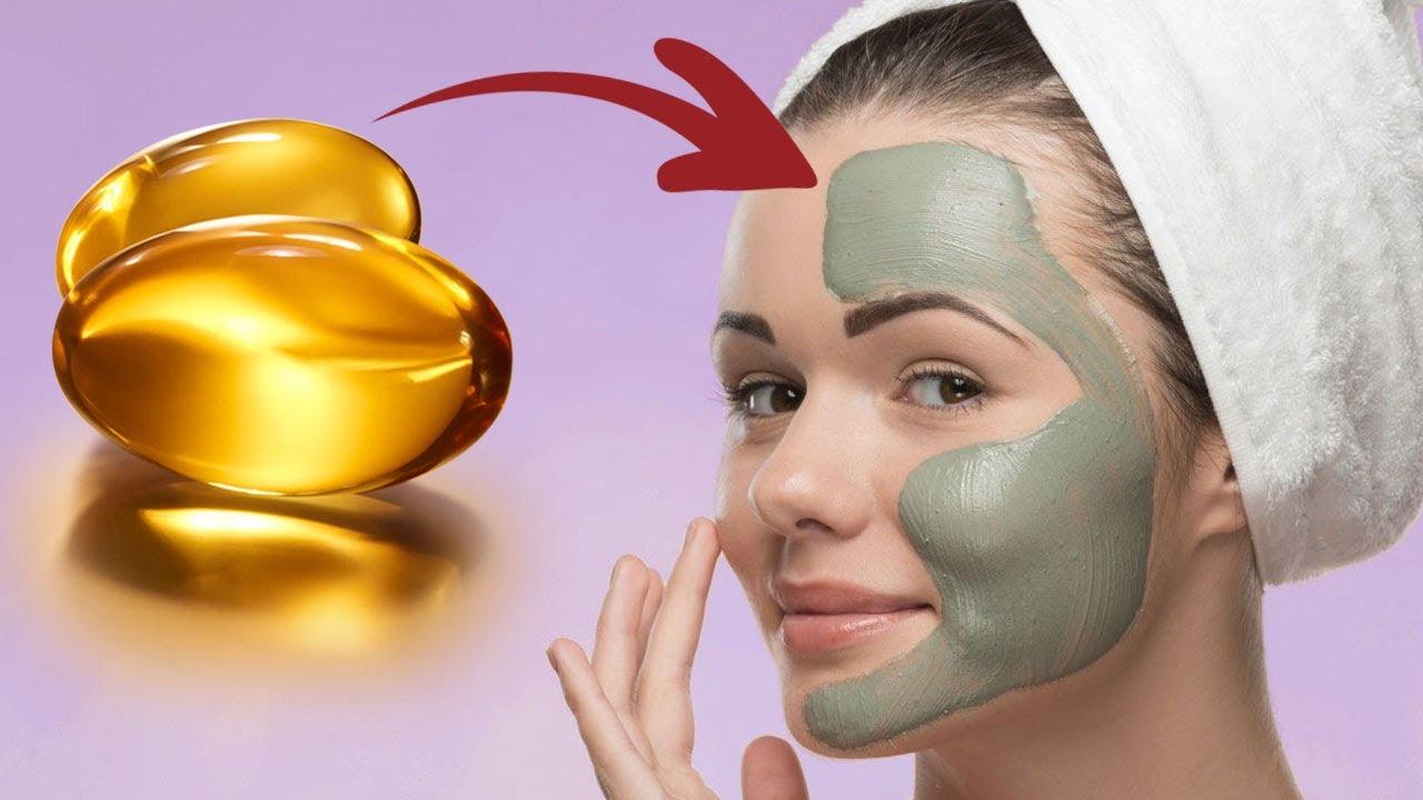 Ella Mezcló Arcilla Verde con Vitamina E y lo echó en su rostro y ahora disfruta de los resultados