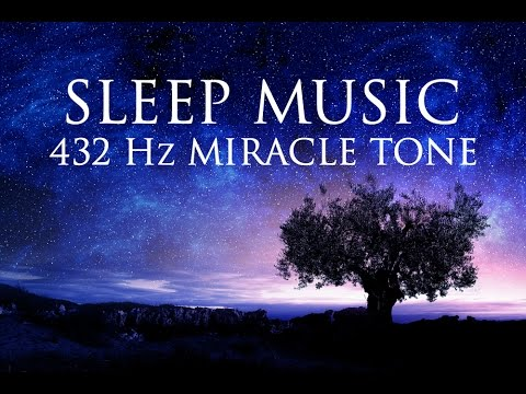 432Hz Miracle Tone SLEEP Music | Healing Frequency | Deeply