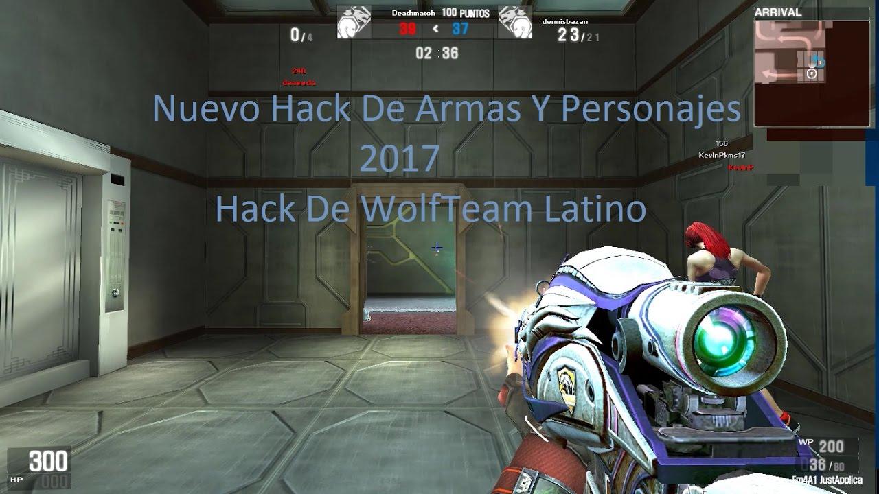 inventario hack para wolfteam