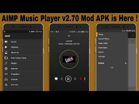 AIMP Music Player v2 70 Mod APK is Here !