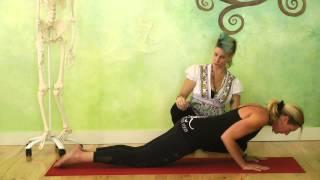 Tools & Techniques to Strengthen Your Chaturanga Dandasana Part One: Knee-down Push-ups A&B