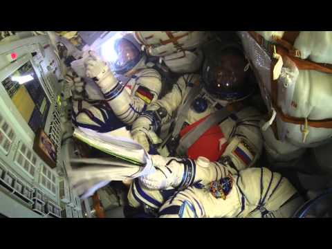 Cramped Ride From Orbit Via Soyuz | Video