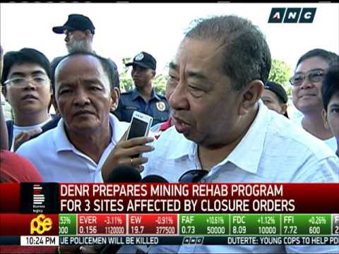 Rehab program eyed for 3 mines affected by closure order
