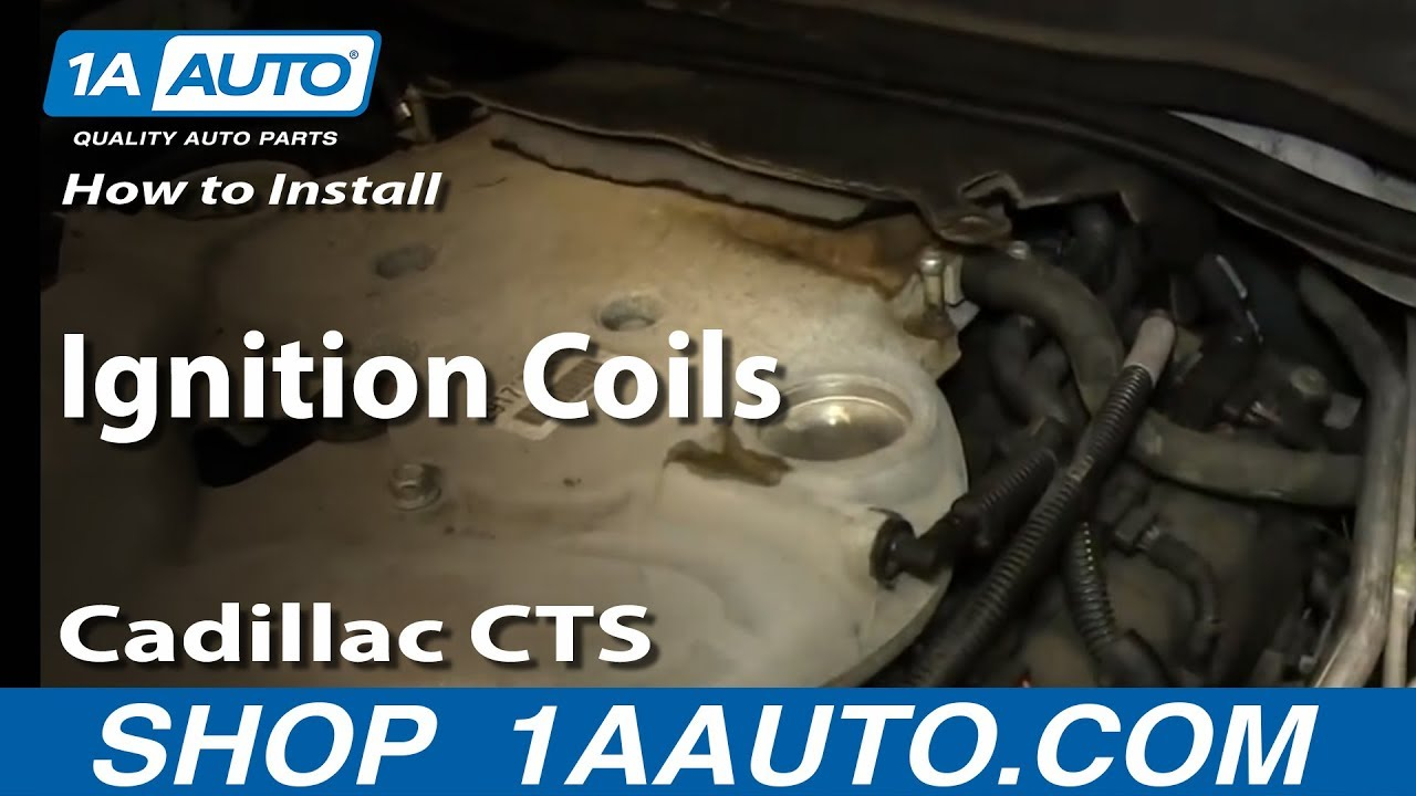 how to replace ignition coils 03 07 cadillac cts [ 1280 x 720 Pixel ]