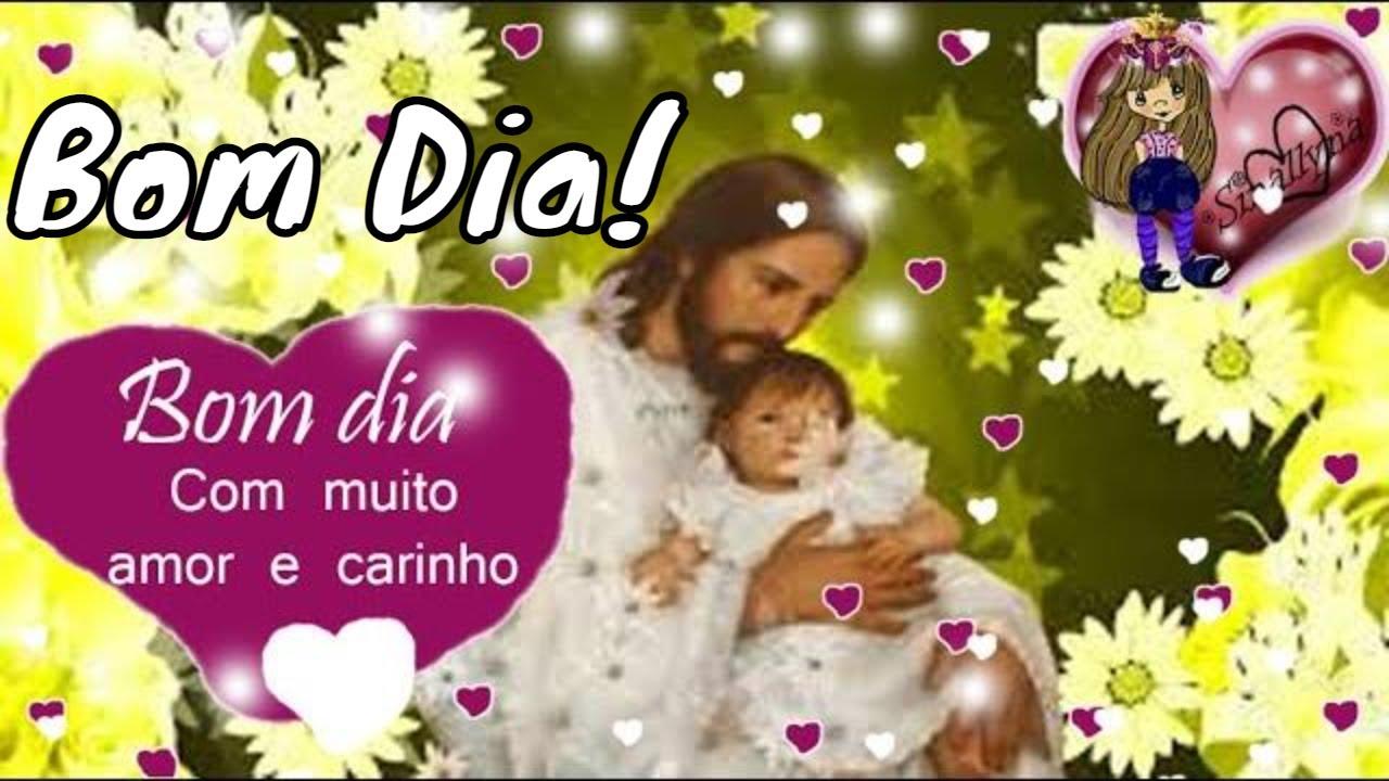 Fabuloso ❤ Linda Mensagem religiosa de Bom dia ❤ Jesus Good Day Message  XM91