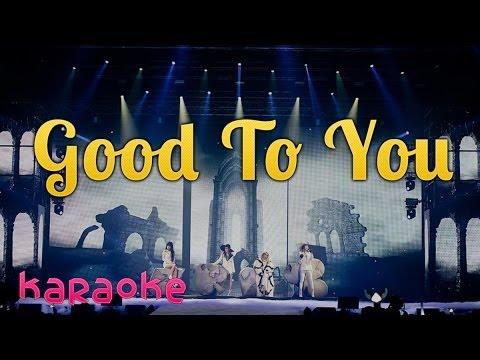2NE1 - Good To You [karaoke]