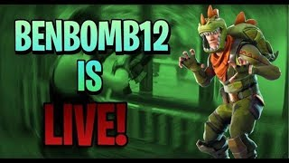 🔴 Fortnite pro console player! My sgt green clover returns TODAY :( // Code: Benbomb12