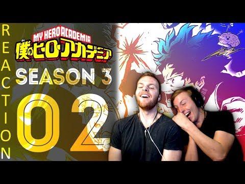 SOS Bros React - My Hero Academia Season 3 Episode 2 - Summer Training Begins!!