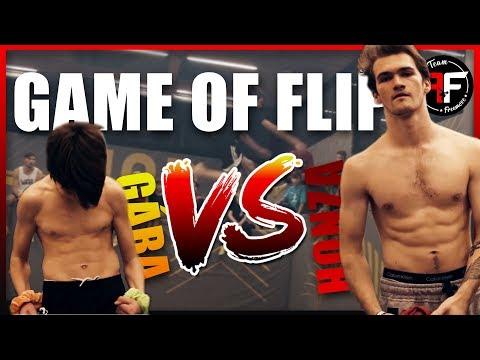 GAME OF FLIP - Honza VS Gabriel (ODVETA?!) | By Freemove