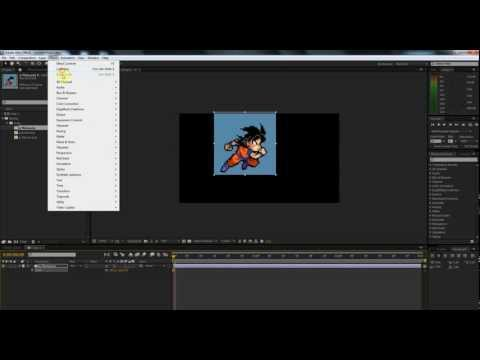 Sprite Animations Inside AE - Lesson 4.5: No More Masking