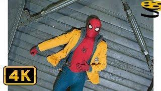 Карен проводит Инструктаж по использованию Веб Шутеров | Человек-паук: Возвращение домой (2017) HD
