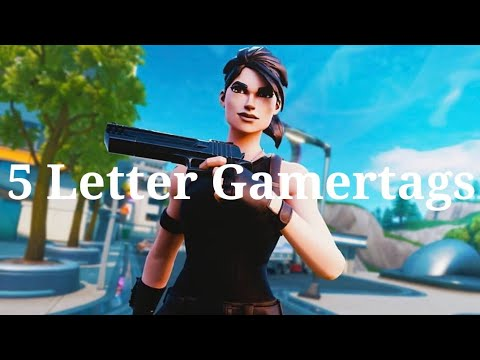Clean OG 5 Letter Fortnite Gamertags Not Taken 2019 (Xbox/PS4) Pt 7