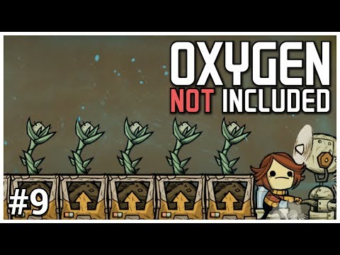 Oxygen Not Included [Early Access] - #9 - Hydroponics - Let's Play / Gameplay / Construction