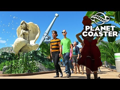 Planet Coaster - Парковые площади! #3
