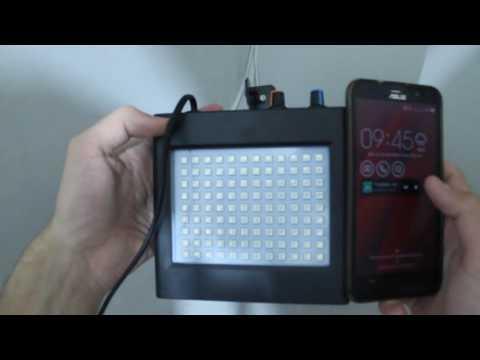 Диско лазер Стробоскоп Світломузика LED Room Strobe 108L-M RGB (Кольоровий)