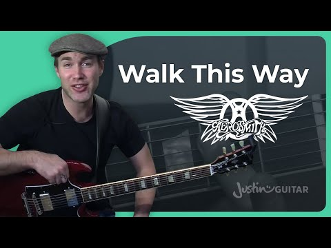 Riff #3: Walk This Way - Aerosmith (Songs Guitar Lesson RF-003) How to play