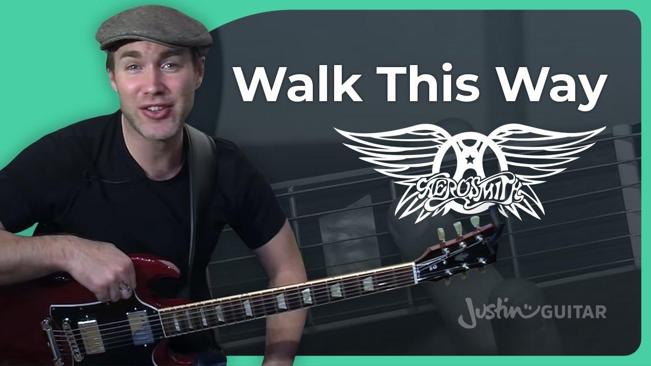 Riff 3 Walk This Way Aerosmith Songs Guitar Lesson Rf 003 How
