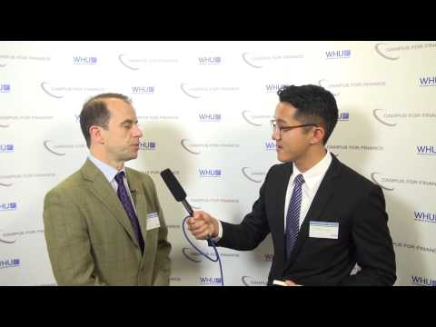 Interview with Davide Taliente - WHU New Year's Conference 2014
