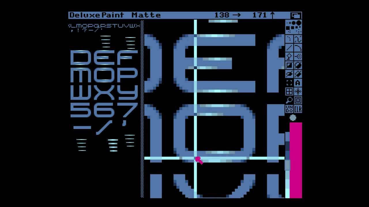Amiga Hardware Programming 18 - draw a font, part 3